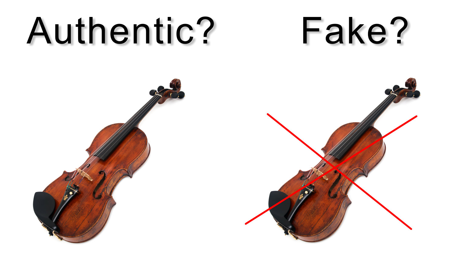 Authentic Or Fake Violin